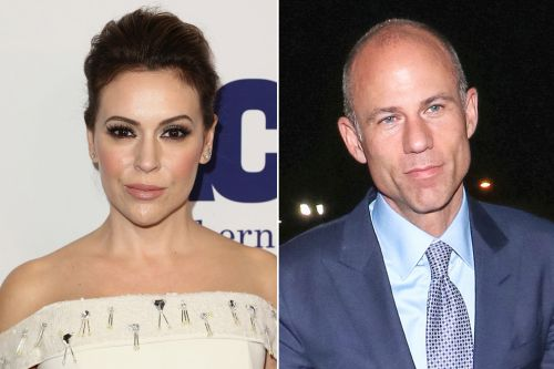 Alyssa Milano disavows Michael Avenatti after domestic violence arrest