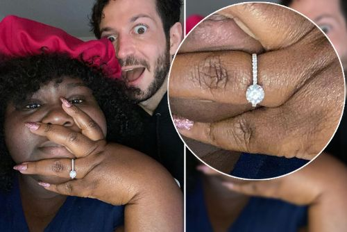 All the details on Gabourey Sidibe's engagement ring from Brandon Frankel