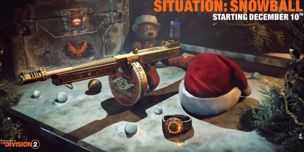 The Division 2 Will Have Snowball Fights & Santa Hats This Holiday Season