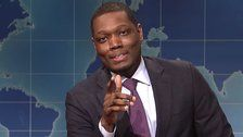 Michael Che Interrupts 'SNL' With A 'Glorious' Message About Butt-Cleaning