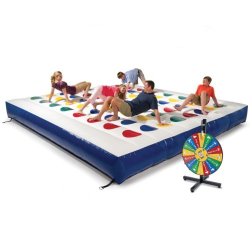 Left Hand Blue! A Giant Inflatable Twister Board Exists, So Get Ready For Family Game Night