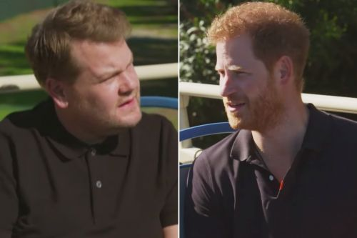 Prince Harry accused of overshadowing the Queen with James Corden interview