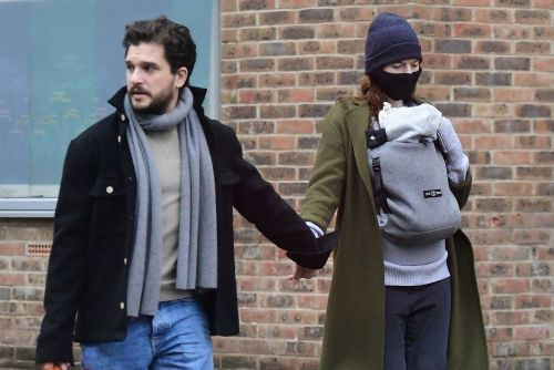 'Game of Thrones' couple Kit Harington and Rose Leslie step out with baby