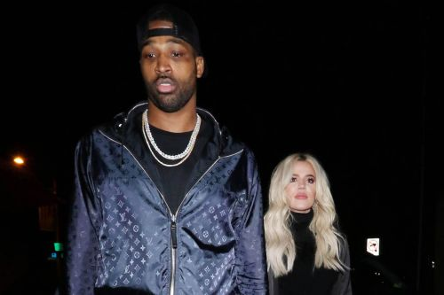 Khloé Kardashian Holds Hands with Tristan Thompson After Supporting Him at Cavaliers Game