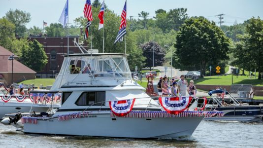 Photos: Grand Haven Fourth of July Boat Parade 2020