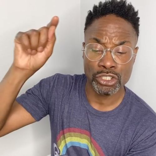 Billy Porter Talks White Privilege, LGTBQ+ Rights, and Voting in a Powerful Video