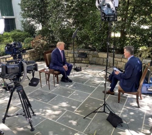 President Trump talks Supreme Court nominee, election, coronavirus and football in NewsNation interview