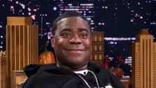Tracy Morgan Presents Award To Nurse Who Cared For Him After Bus Crash