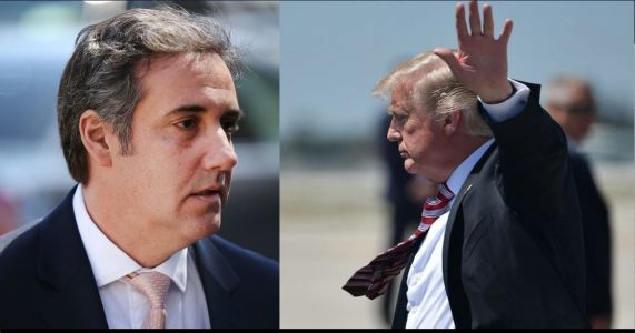 Trump Accuses Michael Cohen of 'Lying to Reduce His Jail Time,' Threatens Father in Law