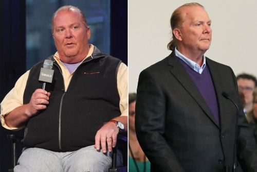 Chef Mario Batali shows dramatic weight loss during court appearance