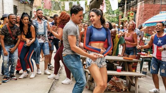 Catchy In The Heights Clip Premieres at 2021 MTV Awards