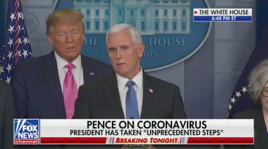 Backlash Erupts After Trump Appoints VP to Lead Coronavirus Outbreak Response: 'Pence's Incompetence Is Literally a Case Study'