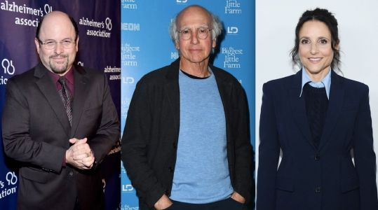 Seinfeld Creator Larry David and Stars Julia Louis-Dreyfus and Jason Alexander Reuniting for Texas Democratic Party Fundraiser