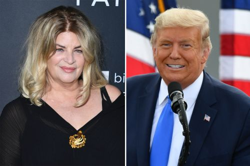 Kirstie Alley gets attacked by celebrities after publicly endorsing Trump