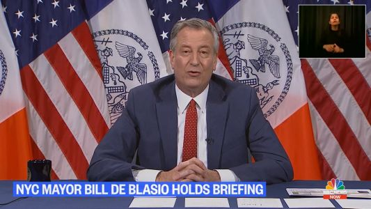 Bill de Blasio Mocked for Invoking the Song 'Imagine' in Pollyanna Plea for Peace: 'Imagine Him Resigning'