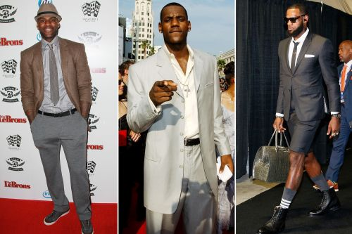 See LeBron James' greatest suits through the years, from oversized to chic