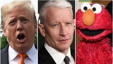 Anderson Cooper Taunts Trump For Speaking Like Elmo From 'Sesame Street'