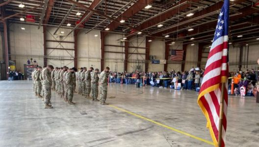 Iowa National Guard Soldiers Receive Welcome Home Ceremony