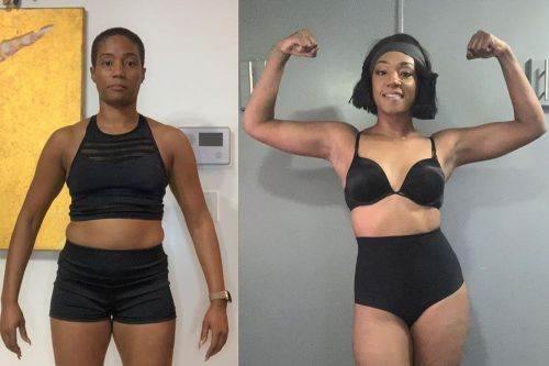 Tiffany Haddish flexes her muscles and more star snaps