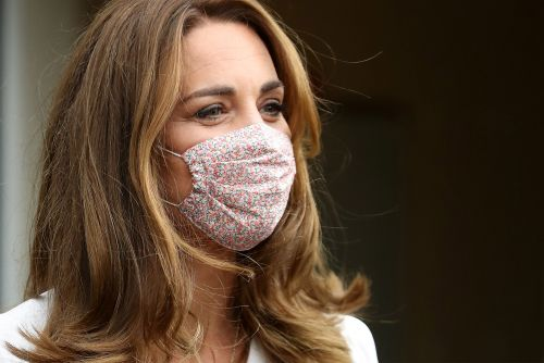 Kate Middleton's face mask is adorable and affordable