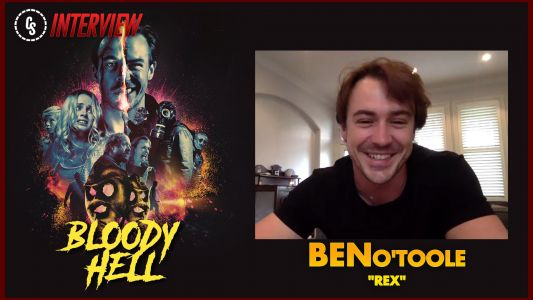 Ben O'Toole can't escape past, or cannibals, in 'Bloody Hell'