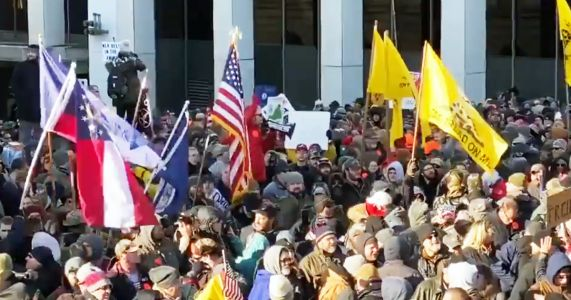 NBC Reporter Shares Vid of Gun Rally Pledge of Allegiance With Inflammatory Caption, Gets Shredded