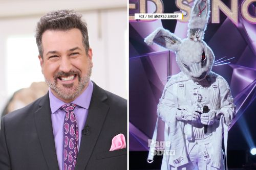 Joey Fatone 'felt bad' lying to everyone about 'The Masked Singer'