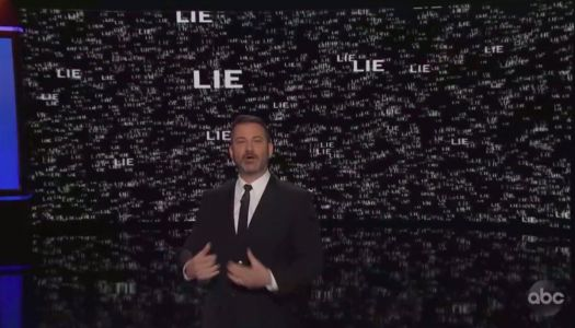 Jimmy Kimmel Illustrates Three Years of President Trump's 16,241 Lies: 'More Lies Than There Are Visible Stars'