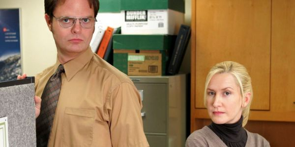 The Office Teased Dwight & Angela's Relationship In The First Episode