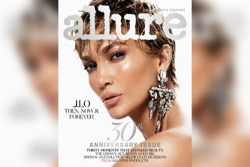 Jennifer Lopez rocks new pixie haircut on Allure's March cover