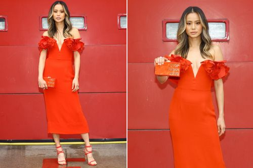 Jamie Chung shows support for Asian Americans with SAG Awards 2021 outfit