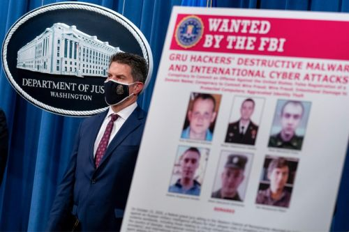 Department of Justice Charges 6 Russian GRU Agents for Cyberattacks on French Elections, Olympics , FedEx and More