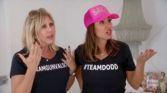 """Kelly Dodd Says Vicki Gunvalson Is A """"Pig"""" With """"A Gross, Funky Body""""; Vicki Calls Kelly A """"Gold Digging Harlot"""" And """"Pig"""" Who Mocks The Black Lives Matter Movement"""