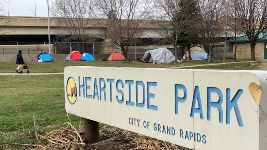 Emergency shelter to take in residents of growing tent city in GR