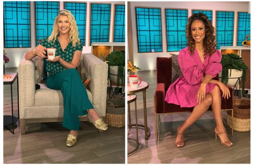 'The Talk' names Amanda Kloots, Elaine Welteroth as co-hosts