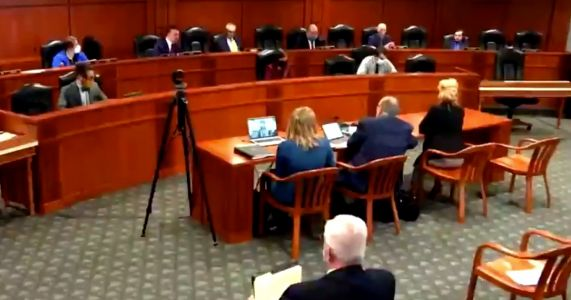 WATCH: Witness at Michigan Hearing Goes Viral for Wild Exchange With GOP Lawmaker
