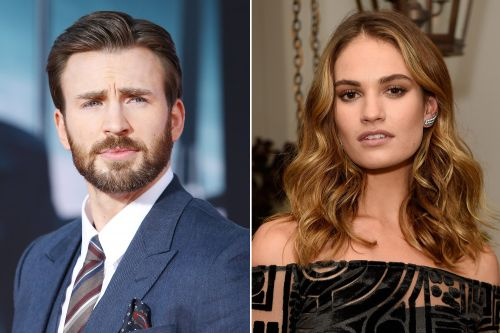 Chris Evans and Lily James spark dating rumors with late-night London pics