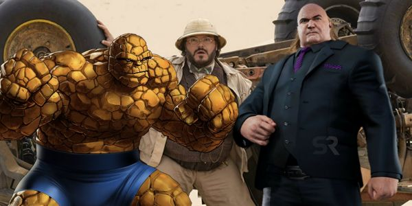 Jack Black Wants To Play Kingpin or The Thing In A Marvel Movie