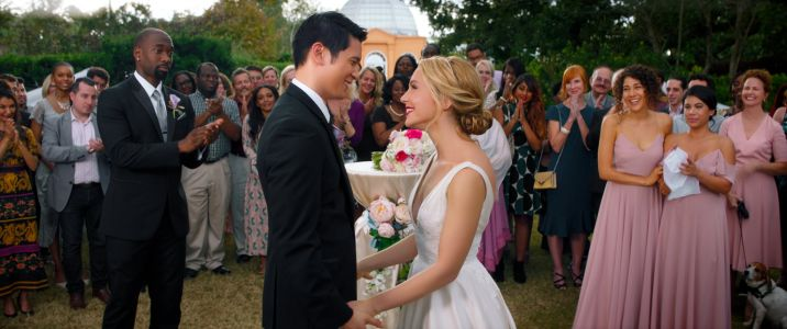 Harry Shum Jr. and Jessica Rothe's New Film, All My Life, Is Based on an Emotional True Story