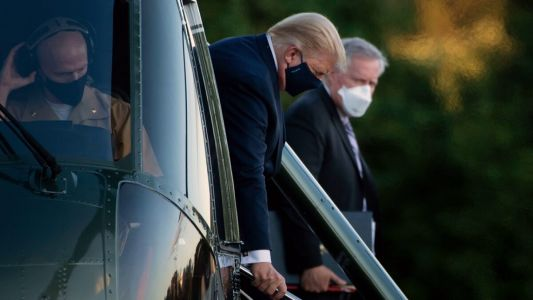 Members of the Military Who Recently Traveled with Trump Have Tested Positive for Covid-19