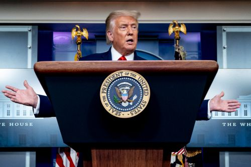 LIVE: Pres. Trump holds news briefing at White House
