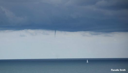 Waterspout outbreak possible on the Great Lakes this weekend