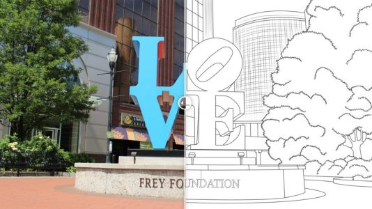 Grand Rapids man creates city-inspired coloring book