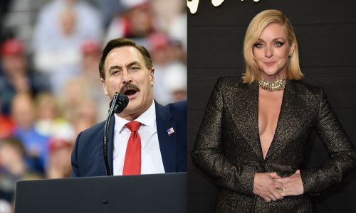 The Odd Couple? 30 Rock's Jane Krakowski and MyPillow CEO Reportedly Had a Secret NYC Romance