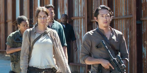 How The Walking Dead's Lauren Cohan Would Feel About Reuniting With Steven Yeun's Glenn For Anthology Show