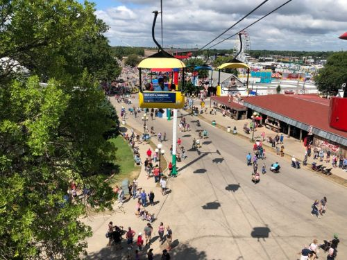 New COVID-19 cases rising nationwide with late summer festivals - including Iowa State Fair - around the corner
