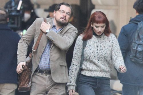 Leonardo DiCaprio and Jennifer Lawrence film together and more star snaps