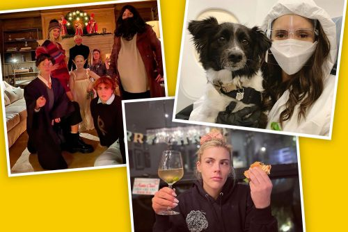 Best star snaps of the week: Faith Hill, Busy Philipps and Nina Dobrev celebrate the holidays