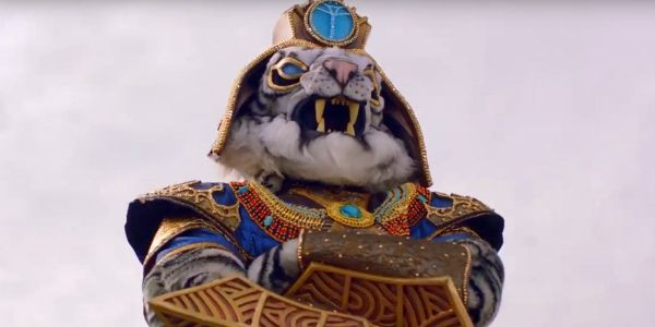 Of Course The Masked Singer's White Tiger Elimination Brought On Tiger King's Joe Exotic Memes