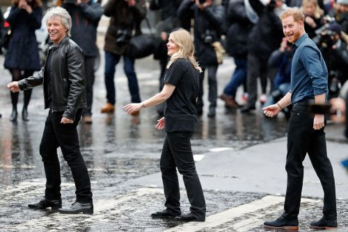 Prince Harry and Jon Bon Jovi recreate 'Abbey Road' and more star snaps
